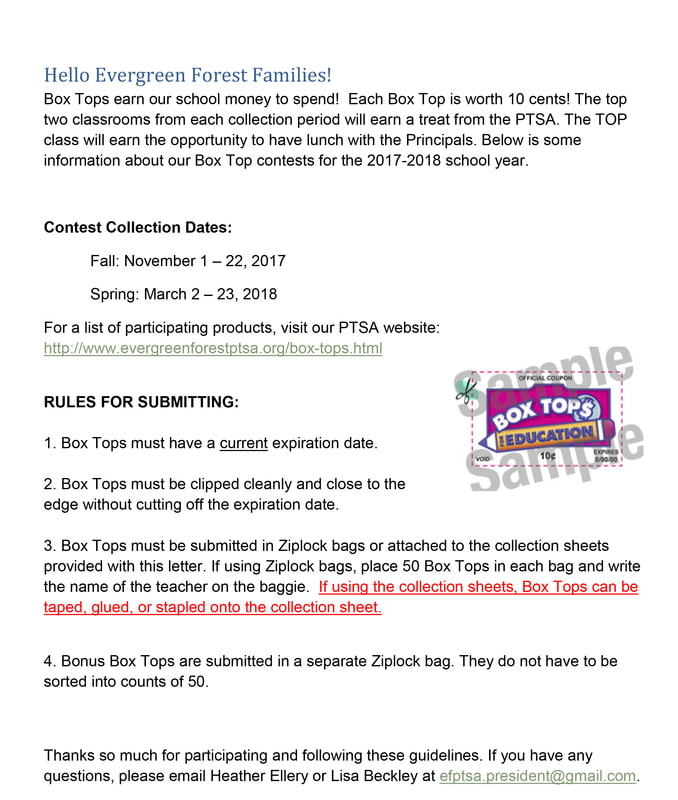 Box tops evergreen forest ptsa letter to families thecheapjerseys Choice Image