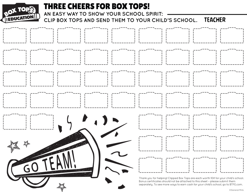 Box Tops  Evergreen Forest Ptsa